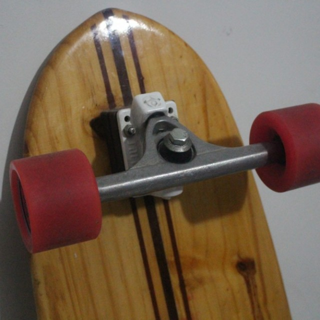Longboard Natural wood Classic