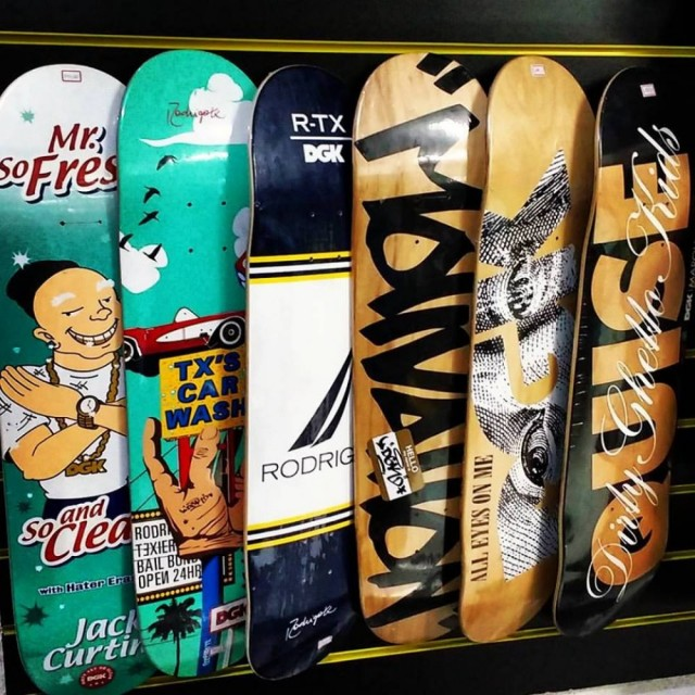 Shapes de Maple DGK, BAKER, DEATH WISH